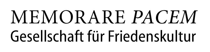 MEMORARE PACEM Logo